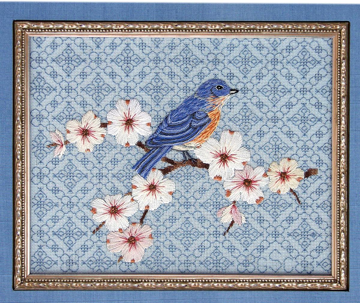 Bluebird and Dogwood