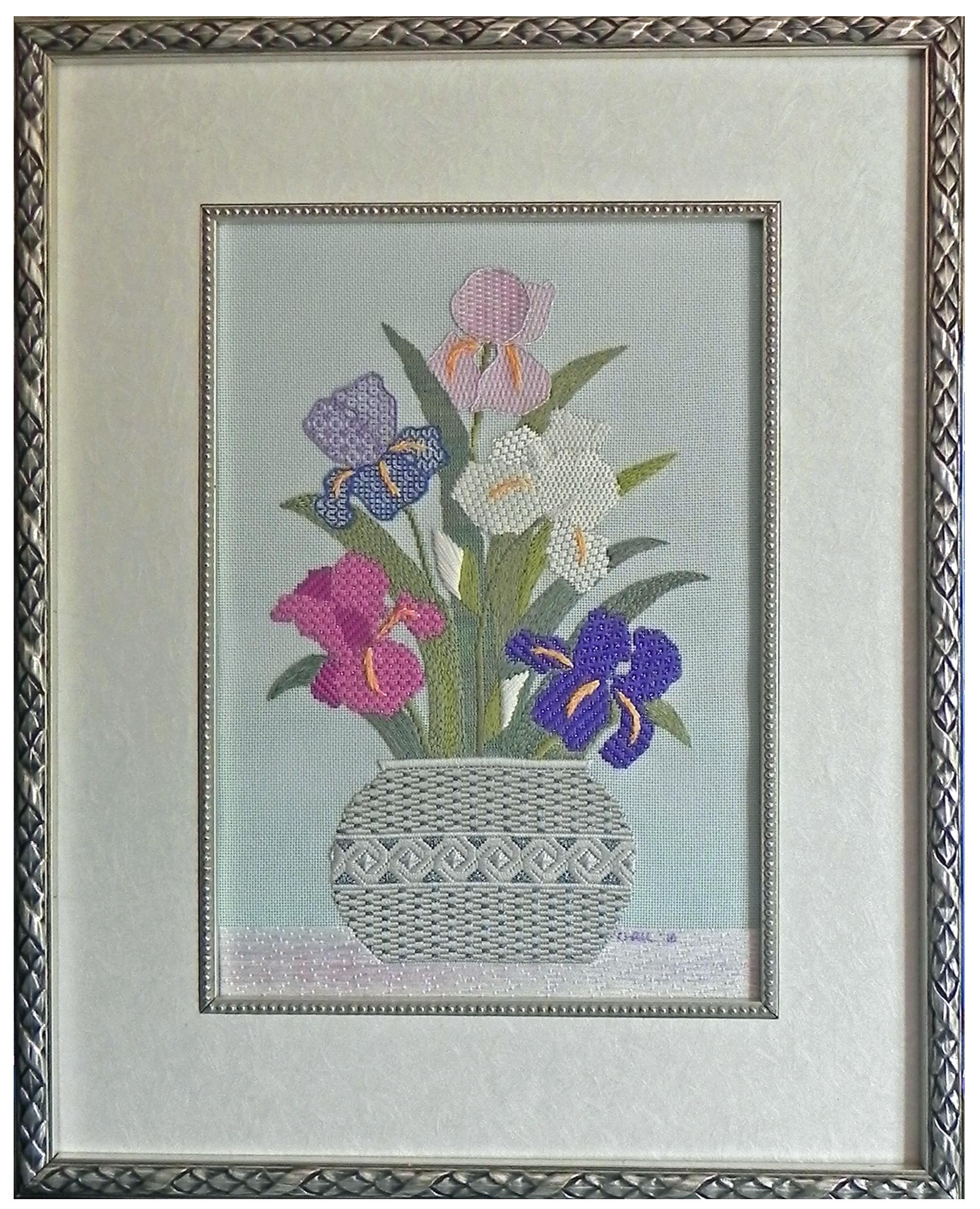 Irises From My Garden