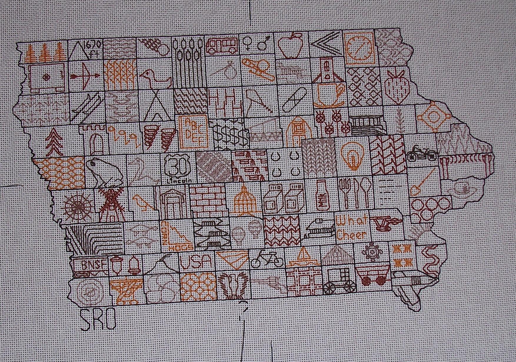 Iowa Mosaic